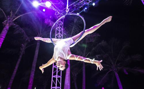cirque club med talents